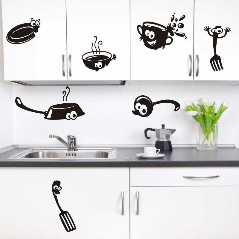 Aparador Vitrina Hemnes ~ A arte de decorar Adesivos para cozinha