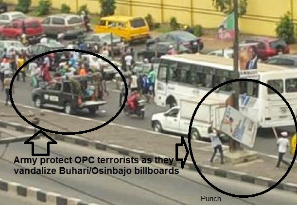 army protect opc members lagos