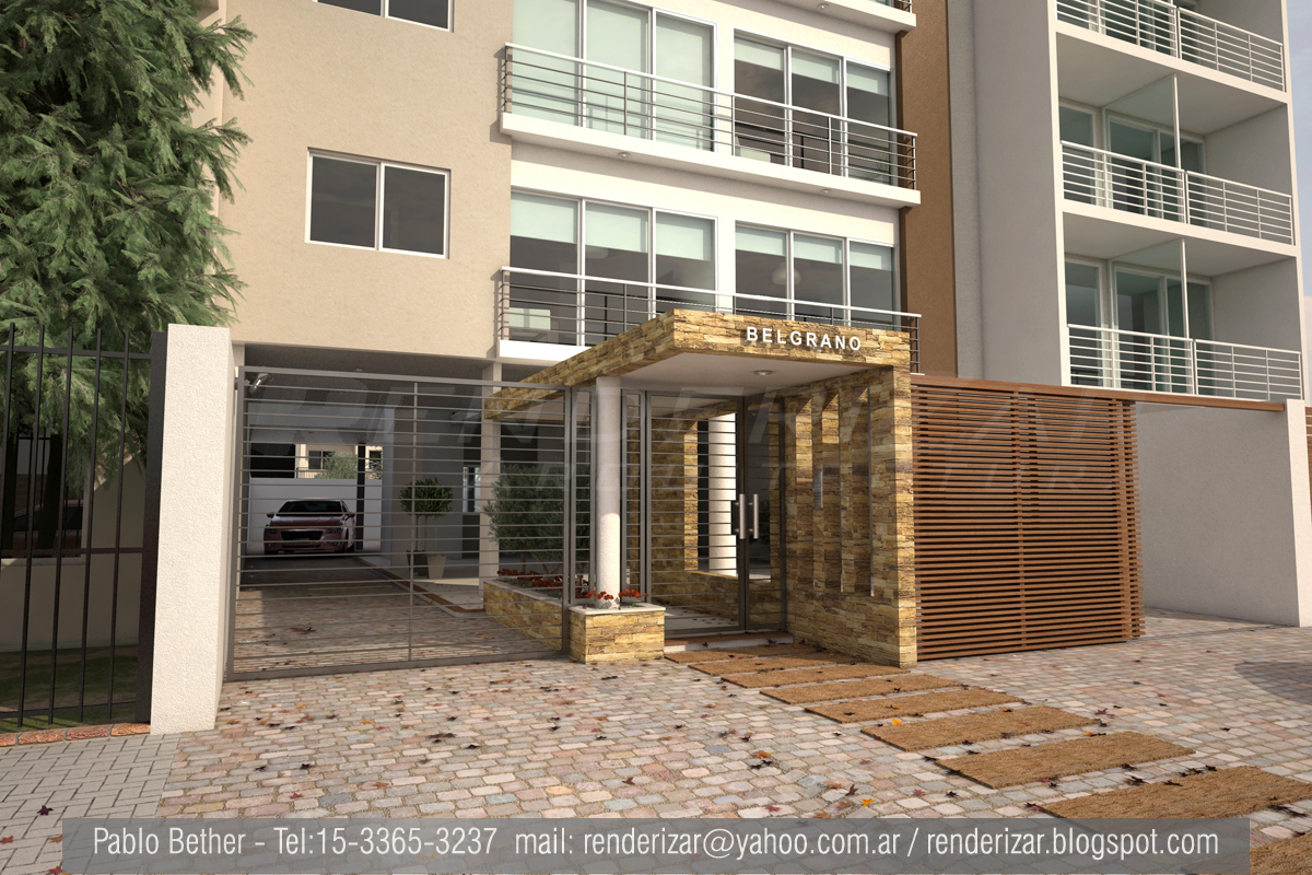 Renderizar arquitectura imagenes 3d renders - Paginas de viviendas ...