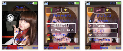 Ivy夢夢 SonyEricsson手機主題for Elm/Hazel/Yari/W20﹝240x320﹞