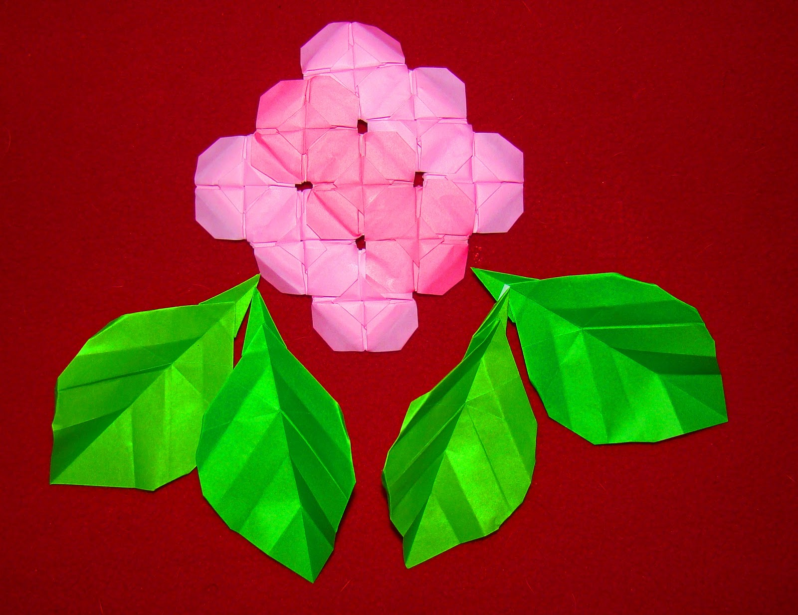 A Beautiful Flower Now Made Of Paper In The Wonderful Origami World Enjoy It Maniacs INSTRUCTIONS