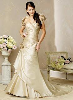 desain baju pernikahan pengantin putri