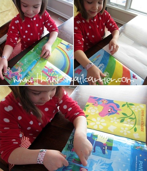 Peaceable Kingdom Sticker Activity Book review