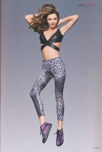 Miranda Kerr Your Fitness Magazine September 2015 Photo Shoot