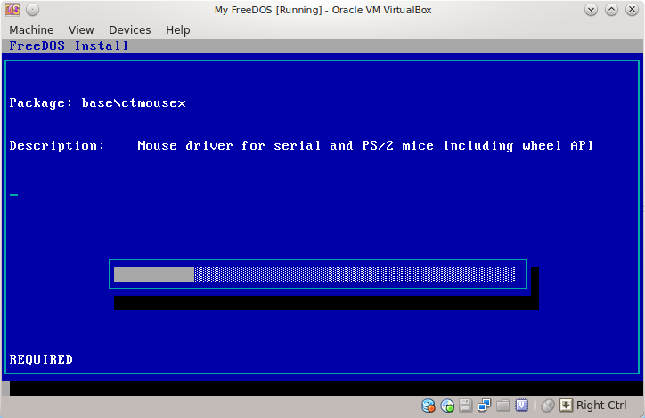 How To Install FreeDOS in Virtualbox on Ubuntu Linux