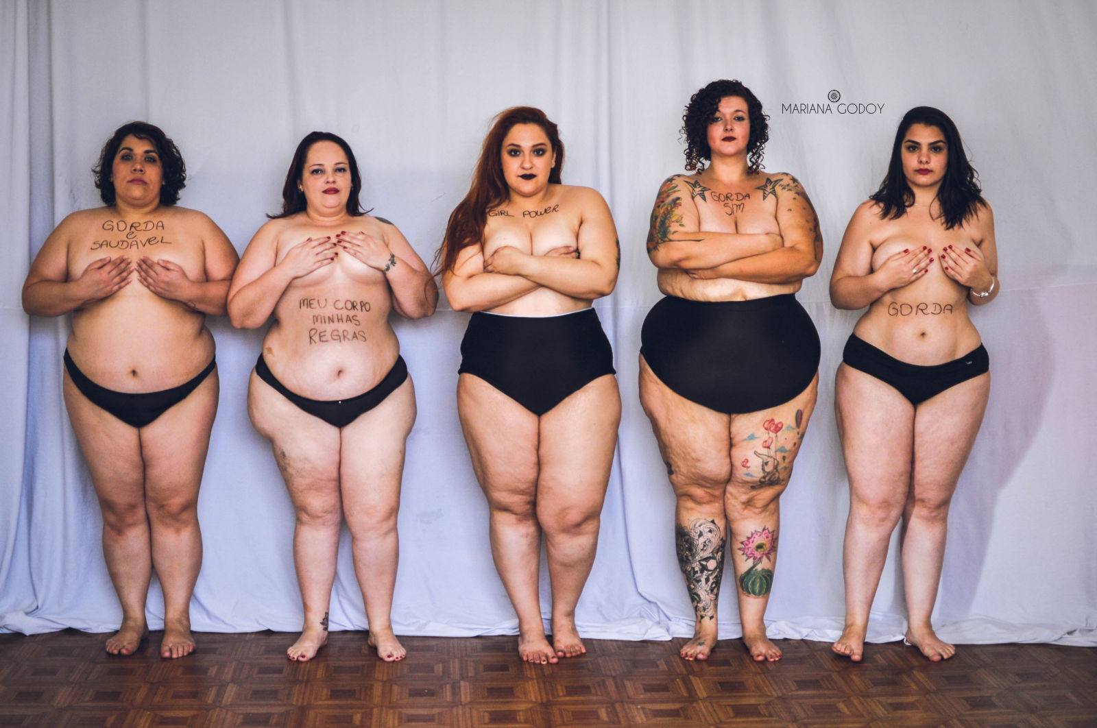 See How This Photo Shoot Campaign Empowers Fat Girls Beta Tinz