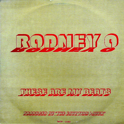 Rodney O – These Are My Beats (1986, VLS, 128-160)