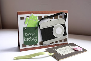 Camera handmade birthday card