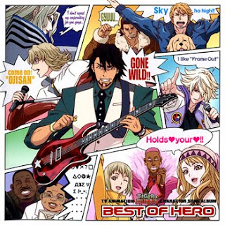 Tiger & Bunny Character Song Album - BEST OF HERO