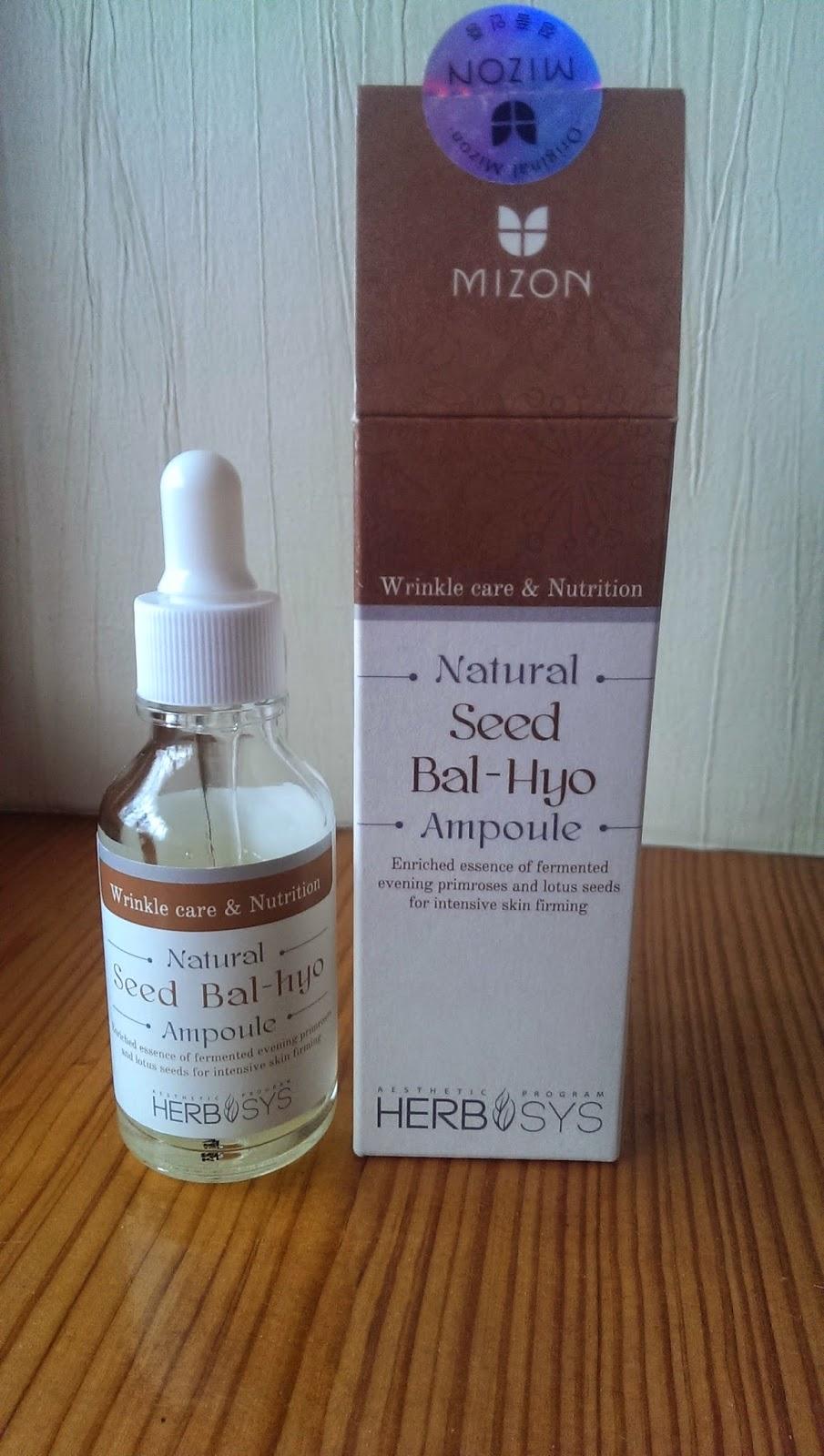 Эссенция Natural Seed Bal-Hyo Ampoule от Mizon