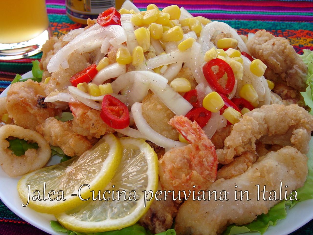cucina peruviana in italia jalea