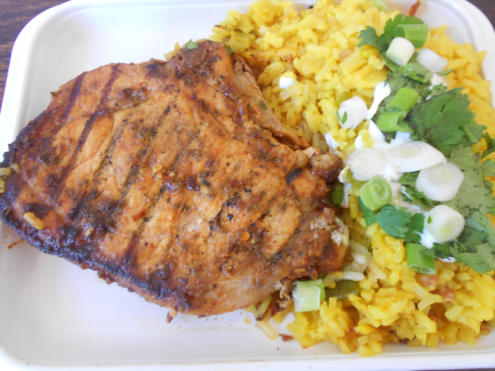 pork chops grilled pork chops with garlic lime sauce grilled pork ...