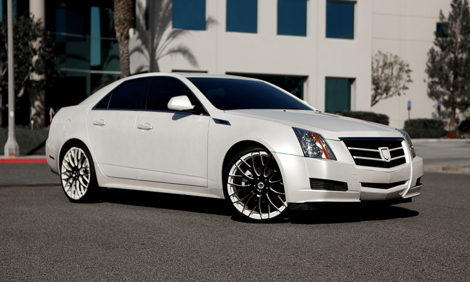 2011 Cadillac Cts On 22 Inch Asanti Slate Rims Only The Cleanest