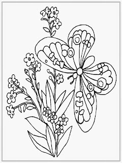 Butterflies Coloring Pages For Adult