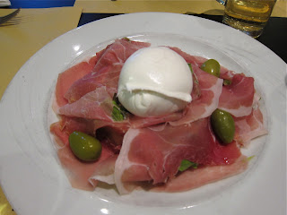 Mozarella and Ham at Rome