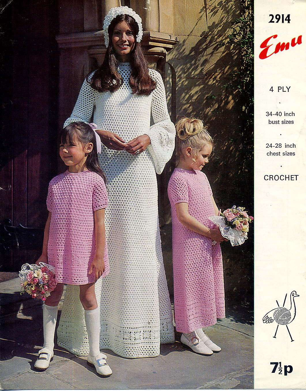 Knitting Now and Then: Wedding Dresses to Crochet