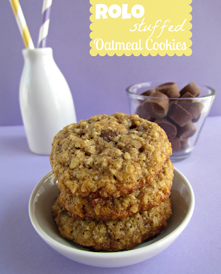 Recipe: Rolo-stuffed oatmeal cookies