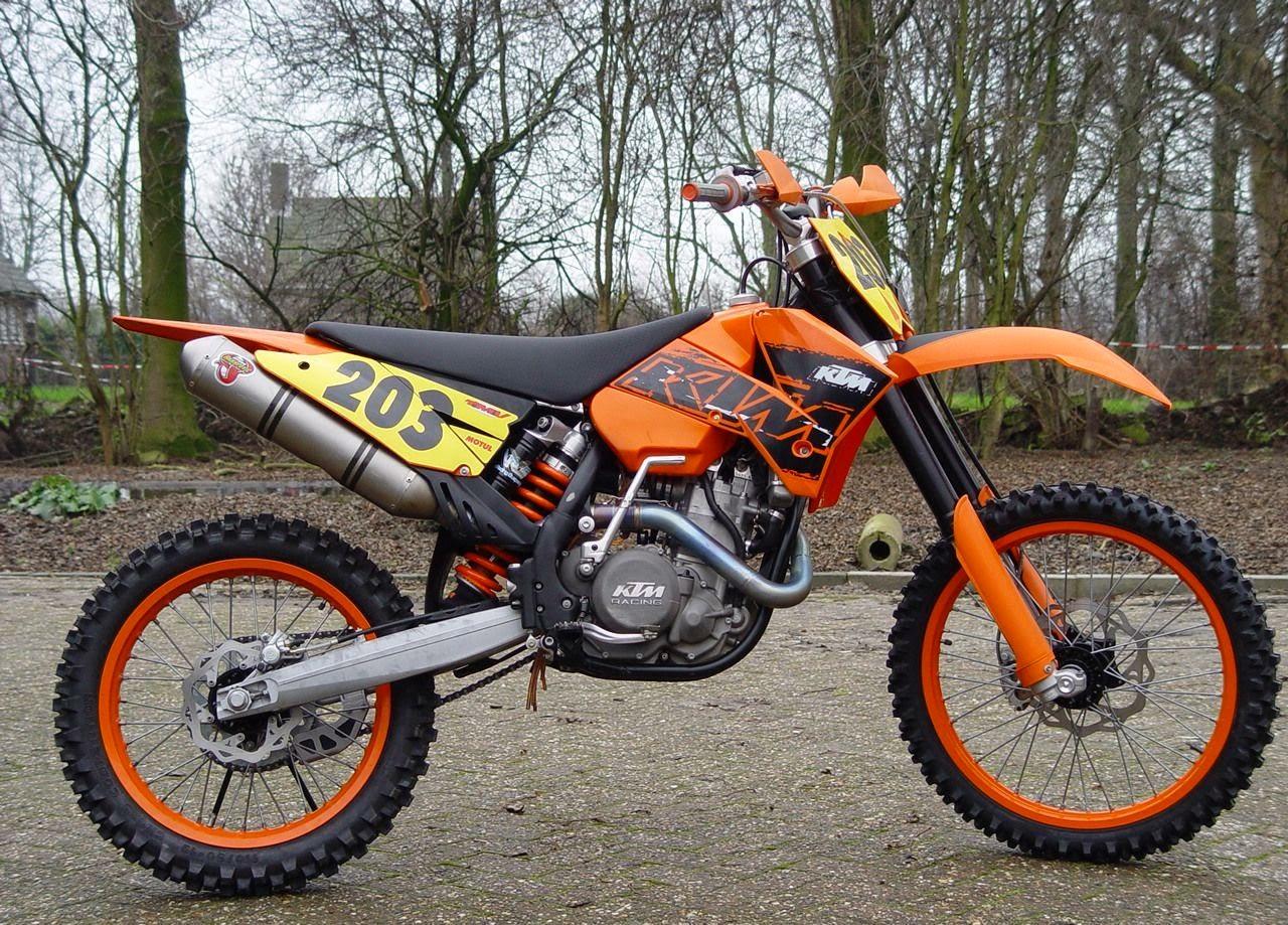 KTM 525 SX Sports Orange Bikes