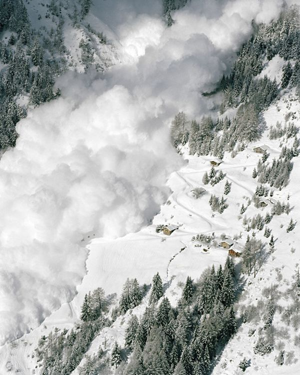 Avalanche Natural Disaster