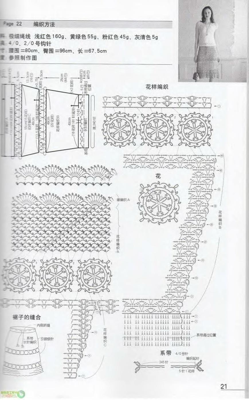 PATRONES JAPONESES | Crochet tejidos
