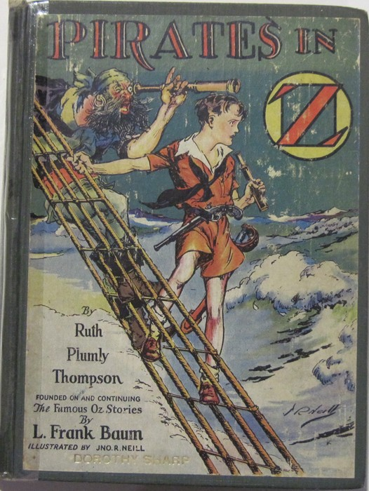 1941 SCALAWAGONS OF OZ; John R. Neill; 1st Edition; DustJacket $1.50; Hyphenated