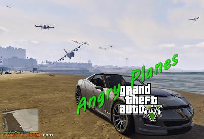 Baixar mod Angry Planes Para GTA V