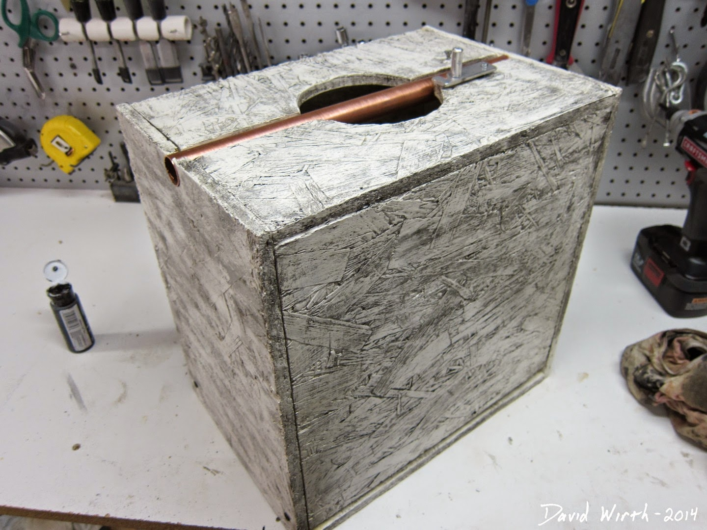 how to weather a tool box, adam savage