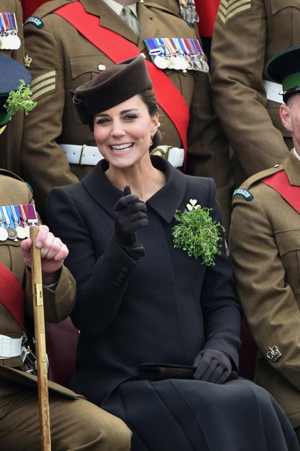Kate Middleton attends St Patrick's Day Parade