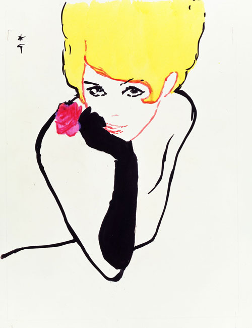 gruau illustration dior
