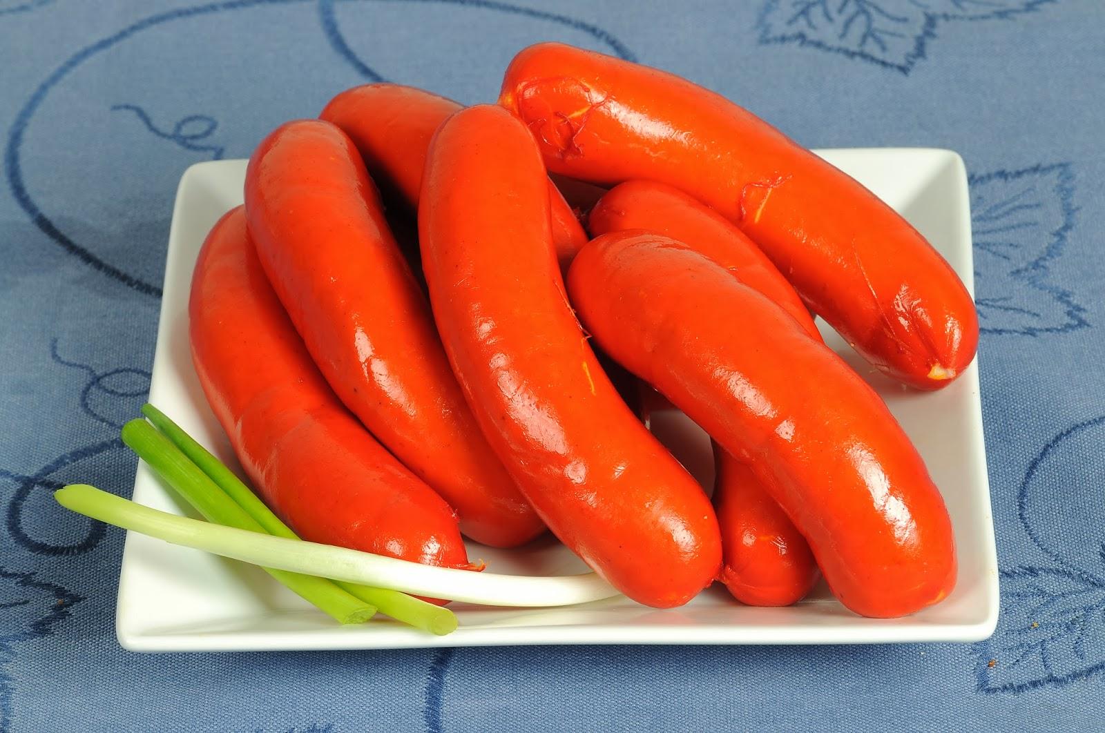 Salsicha com alho Tosello