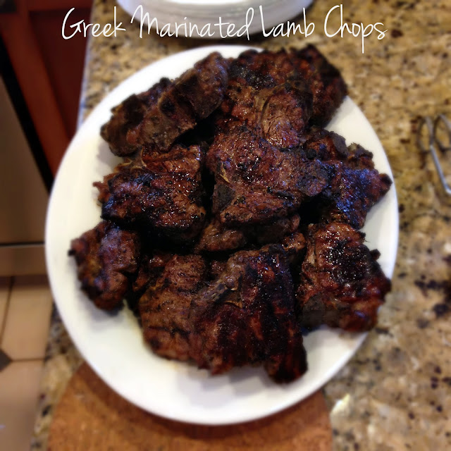 Recipe for Grilled Lamb Chops