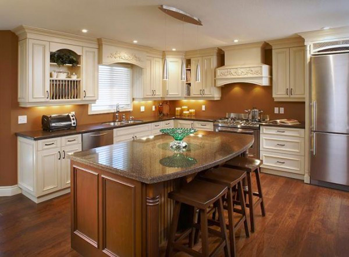 a simple way to modernize your kitchen is by replacing your cabinets and alter the hardware it becomes an affordable project that most persons can perform