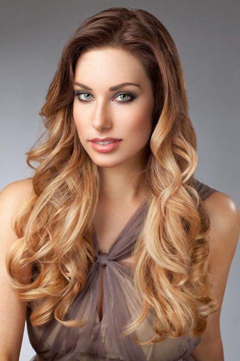 Degradado de color en pelo largo