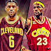 Cleveland Cavaliers experienced the taste of what's to come in tomorrow match ups