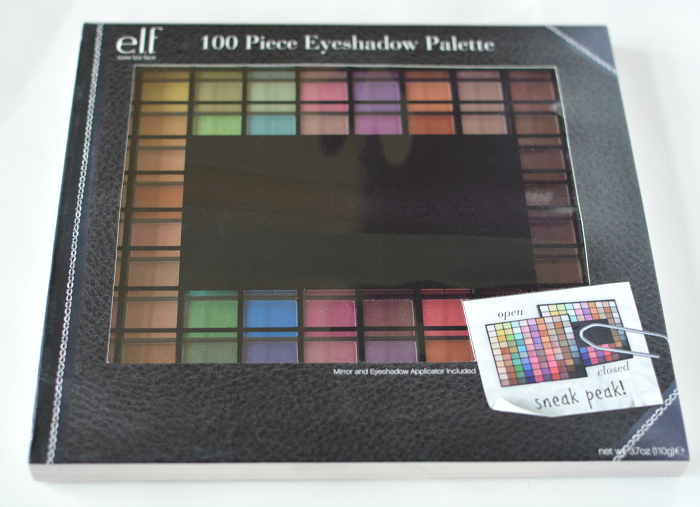 Elf 100 piece eyeshadow palette giveaway