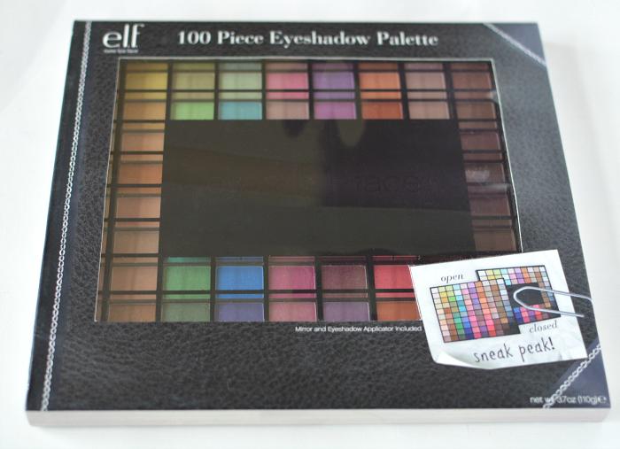Elf 100 piece eyeshadow palette giveaway