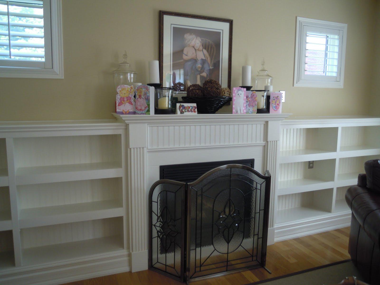 Beadboard Style Fireplace Mantels