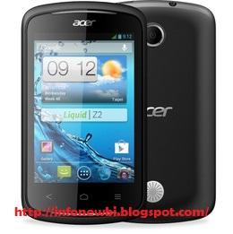 Spesifikasi Lengkap dan Harga HP Acer Liquid Z120 Jelly Bean