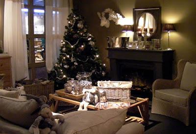 sfeer in en rondom mijn huis: de woonkamer winterklaar maken...