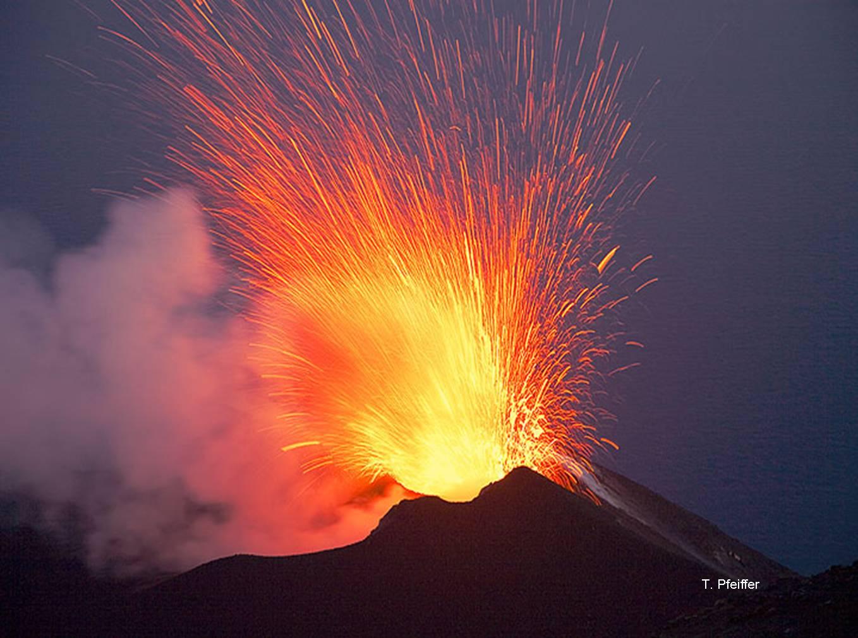 Volcanic Eruptions Blasts