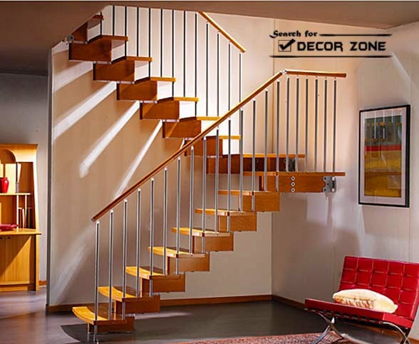 Wooden Staircase Kits With Modern Structure