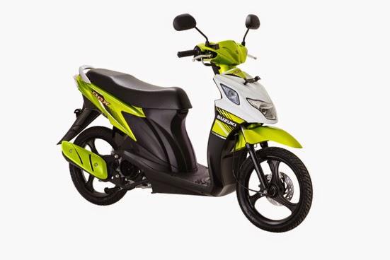 New Suzuki Nex FI