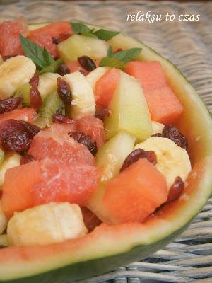 sałatka owocowa na lato