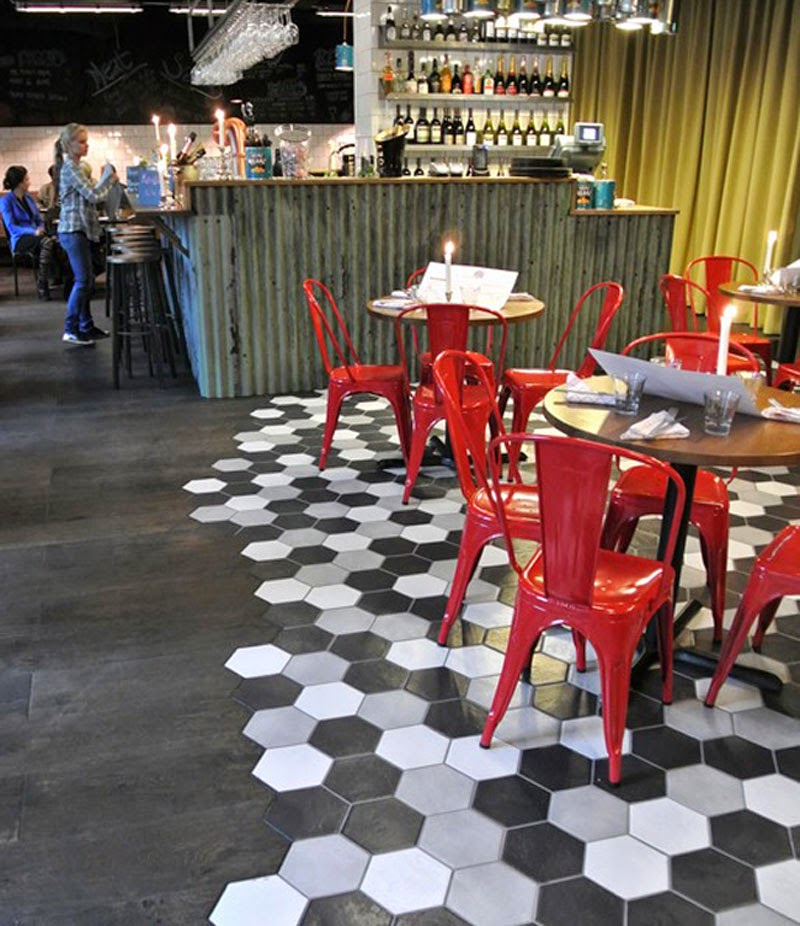 Un nueva tendencia en suelos una selecci n de creativos - Suelos para bares ...