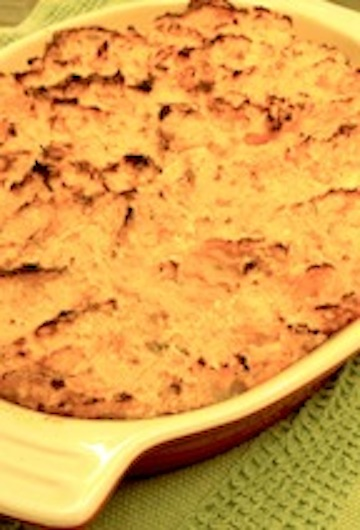 What Can You Eat?: Sweet Potato Spoon Bread