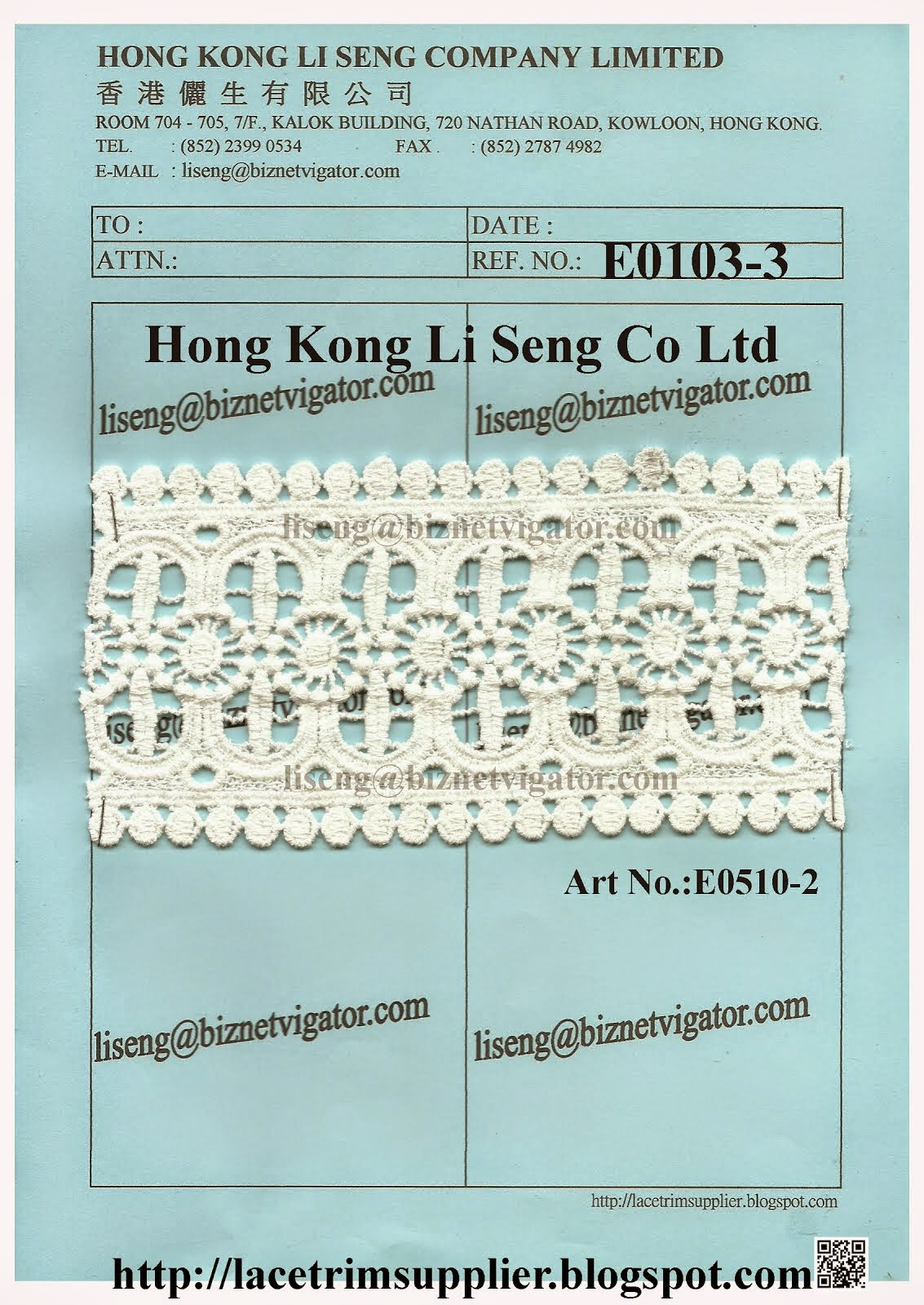 New Lace Pattern For All Kind Clothes Supplier