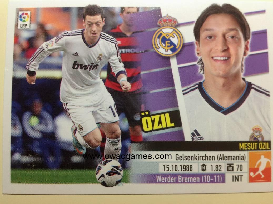 Liga ESTE 2013-14 Real Madid - 12 - Özil