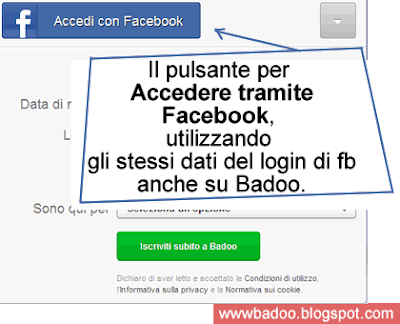 donne per serate badoo login italiano