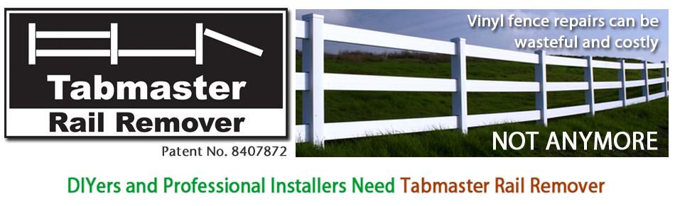 Tabmaster Rail Remover