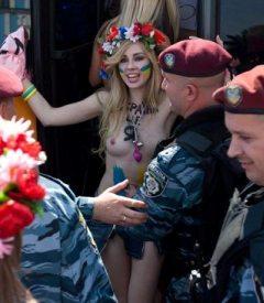 Femen in 2010